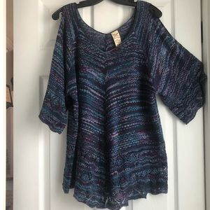 Faded Glory - Cold Shoulder Sweater